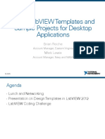 Using LabVIEW Templates and Sample Projects for Desktop Applications