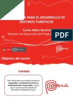 Alban - Mincetur Estrategia Para Desarrollo de Destinos Turisticos