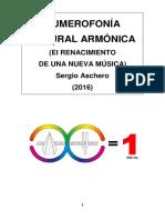 Numerofonía Natural Armónica de Aschero