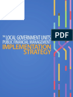 Local Government Units Public Financial Management Implementation Strategy