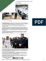 09-06-16 Entrega Claudia Pavlovich 98 patrullas a la PESP. -Uniradio