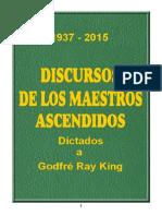 Discursos de Los Maestros Ascendidos