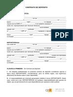 Modelo Contrato de Depósito
