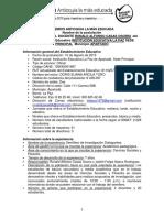 Experiencia Significativa Semillero de Investigación Los Dialegantes I.E. La Paz - Apartadó