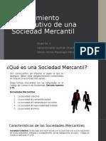 Procedimiento Constitutivo de Una Sociedad Mercantil