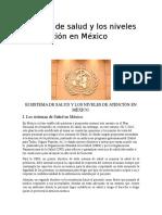 Niveles de Atención a La Salud en México