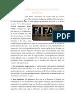 Nuevas Reglas Del Futbol a Nivel Mundial