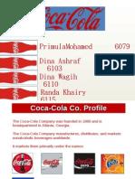 Coca-Cola Final Presentation