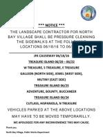 NBI Street Pressure Cleaning Notice 06-16-2016