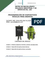 Desarrolla Aplicaciones Móviles CBTIS 100
