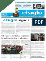 Edición impresa elsiglo 21-06-2016