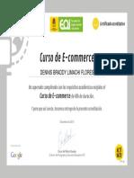 modelo de Certificado Comercio Electronico