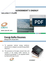 DEN_Ovewrview of Government's Energy Security Plan
