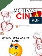 Slaid Motivasi CINTA