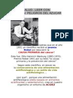 Azucar - Peligros Del Azucar