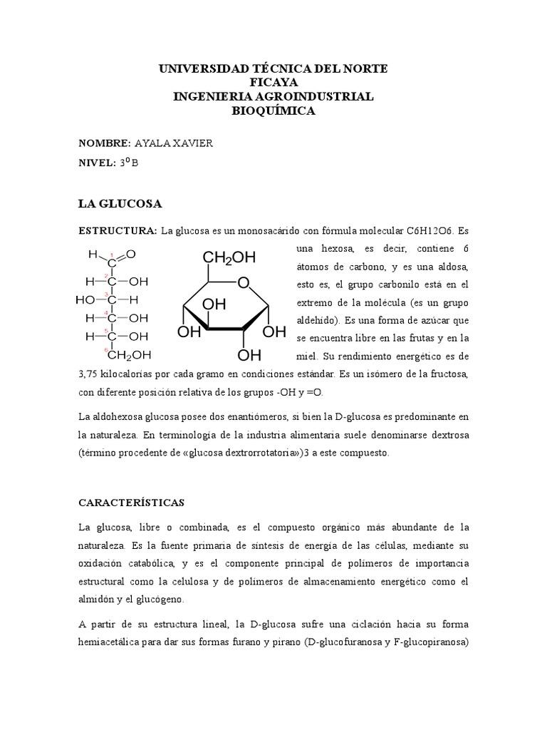 Glucosa Y Lactosa