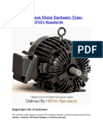 7 Most Common Motor Enclosure Types Defined by NEMA Standards