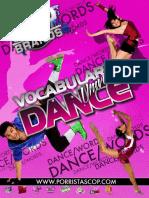 Vocabulario de Danza