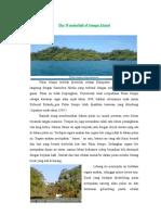 The Wonder Full of Sempu Island