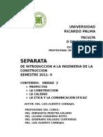 Separata II Proyectos
