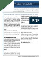 Normas de Auditoria Interna Chile