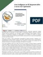 Tierras comunitarias indígenas en El Impenetrable un nuevo y grueso error del gobierno chaquenio 11.2015..pdf
