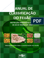 Manual de Classificação do Feijão