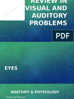 Review in Visual and Auditory Problems