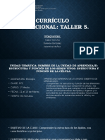 taller5_CURRÍCULO EDUCACIONAL