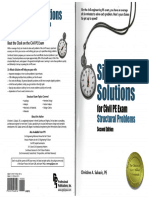 Six-Minute Solutions for Structural PE I Exam Problems