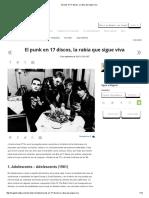El Punk en 17 Discos, La Rabia Que Sigue Viva