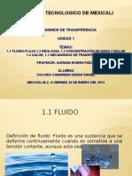 Presentación Mecanismos de Transferecia Unidad I