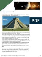 Os Maias Tinham Mais Conhecimento Que Os Europeus Na Época » AstroPT - Informação e Educação Científica