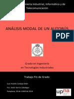 Analisis Modal de Un Vehiculo
