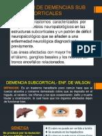 Demencia Sub Corticales