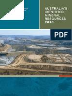 Australian Mienral Resources_2013_Geoscience Australia