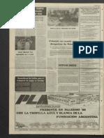 Diario de la FAA La Tierra 1985