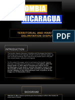 Conflicto Nicaragua y Colombia