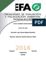 Organismo de Evaluación y Fiscalización Ambiental