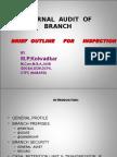 INTERNAL  AUDIT  OF  BRANCH.ppt