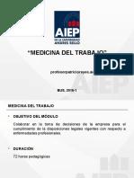 Ppt Medicina Del Trabajo 2016-1