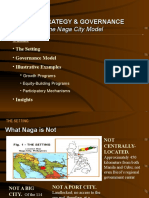 City Strategy Governance the Naga City Model