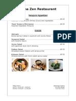 harry a6-menu