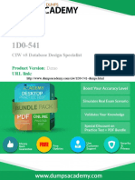 1D0-541 Exam - 100% Passing Guarantee with latest Demo.pdf