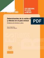 Determinantes de la salida de IED y efectos en el país emisor. Evidencia de América Latina