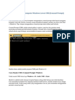 Cara Mematikan Komputer Windows Lewat CMD
