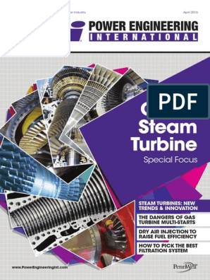 Gas & Steam Turbine: Special Focus