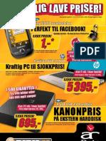 Mamoz.no og AR Data sin kampanjeavis mai 2010