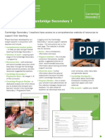 Secondary1 Web Factsheet