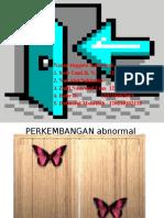 Perkembangan Peserta Didik (Abnormal)